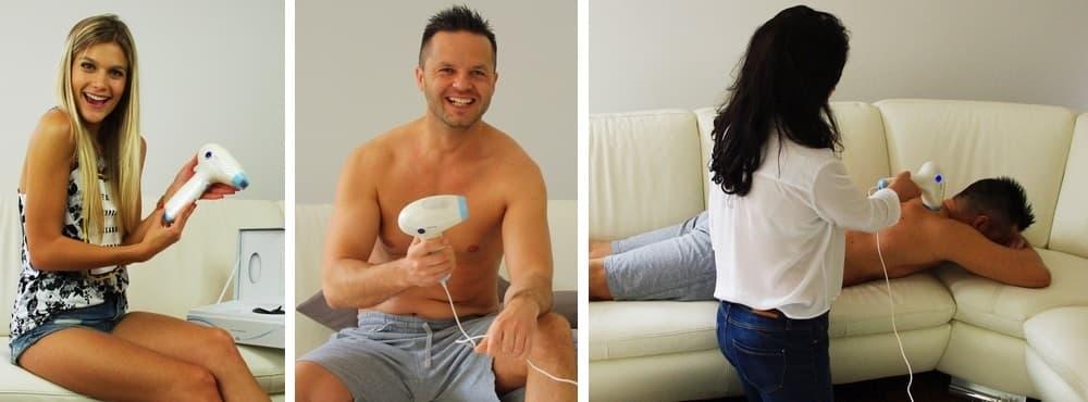 IPL szőrtelenítő készülék férfiaknak és nőknek
