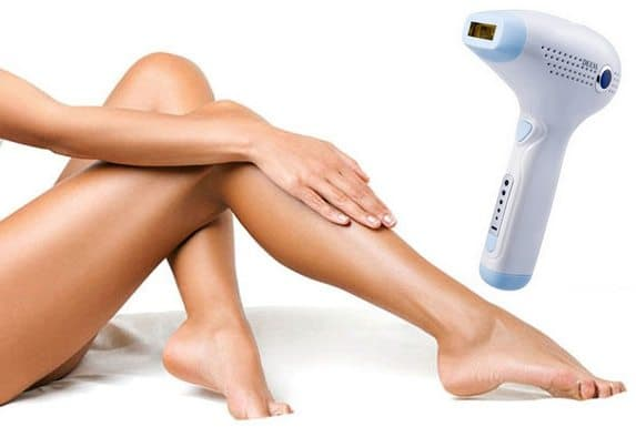 DEESS IPL szőrtelenítő gép a selymes, pihe-puha lábakért